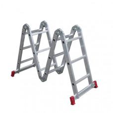 Escada Articulada 13 em 1 3x4 com 12 Degraus de Alumínio Botafogo