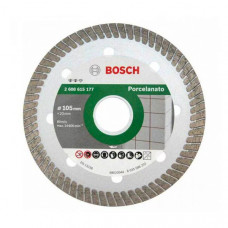 DISCO DE CORTE DIAMANTADO PARA PORCELANATO 105MM 2608 - BOSCH