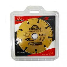 DISCO DE CORTE METAL 115MM - PARAMAX