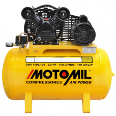 Compressor Air Power Monofásico 10 Pés 2,0 HP Bivolt - Motomil