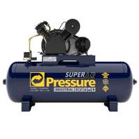 Compressor Superar 20/200l Motor 5cv Trifasico Pressure