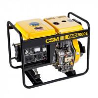 Gerador a Diesel Partida Elétrica Mono 4.5Kva 6Hp Gmd7000E Csm